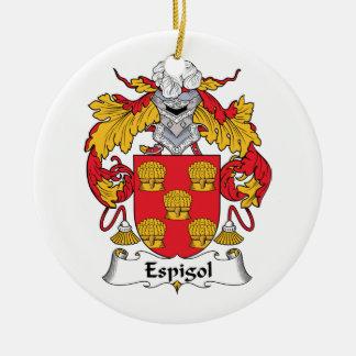 Escudo de la familia de Espigol Ornatos