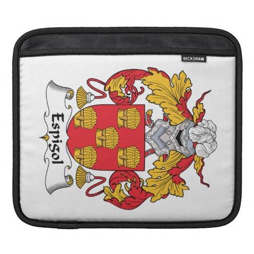 Escudo de la familia de Espigol Manga De iPad