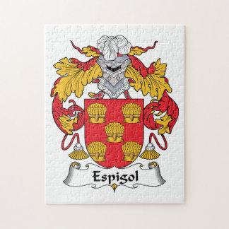 Escudo de la familia de Espigol Puzzle Con Fotos