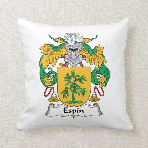 Escudo de la familia de Espin Cojin