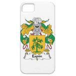 Escudo de la familia de Espin iPhone 5 Cárcasas
