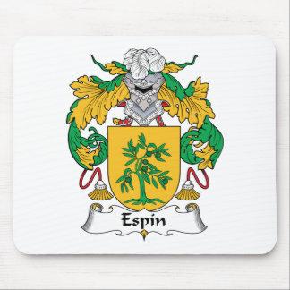 Escudo de la familia de Espin Alfombrillas De Ratones