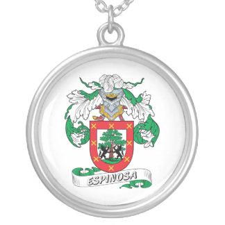 Escudo de la familia de Espinosa Pendiente Personalizado