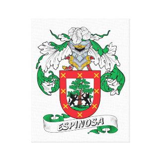 Escudo de la familia de Espinosa Impresión De Lienzo