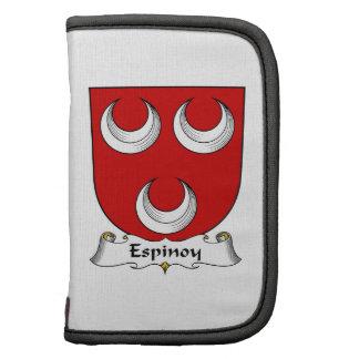 Escudo de la familia de Espinoy Planificador