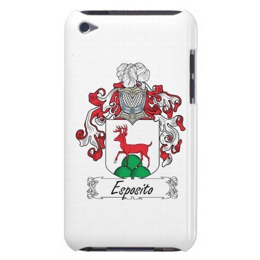 Escudo de la familia de Esposito iPod Case-Mate Carcasas