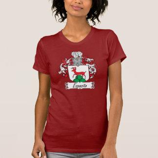 Escudo de la familia de Esposito Camisetas