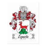 Escudo de la familia de Esposito Postal