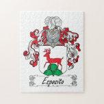 Escudo de la familia de Esposito Rompecabeza Con Fotos