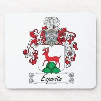 Escudo de la familia de Esposito Tapetes De Raton