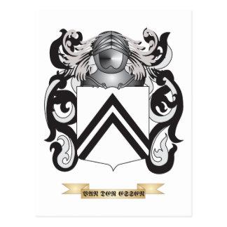 Escudo de la familia de Essen del der de Van escu Postales