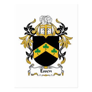 Escudo de la familia de Essen Postales