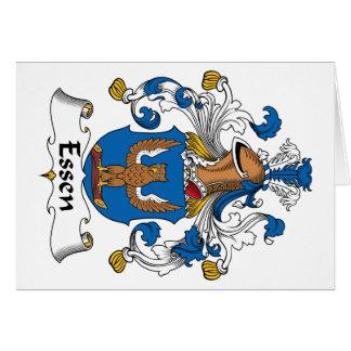 Escudo de la familia de Essen Tarjetas