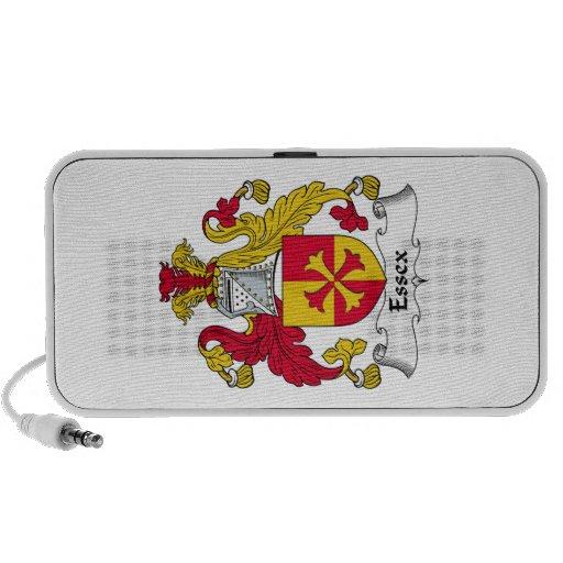 Escudo de la familia de Essex iPod Altavoz