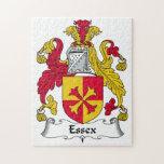 Escudo de la familia de Essex Rompecabeza Con Fotos