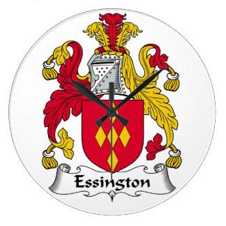 Escudo de la familia de Essington Reloj