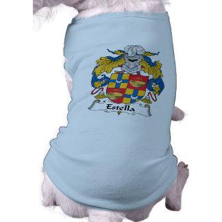 Escudo de la familia de Estella Camisa De Perro