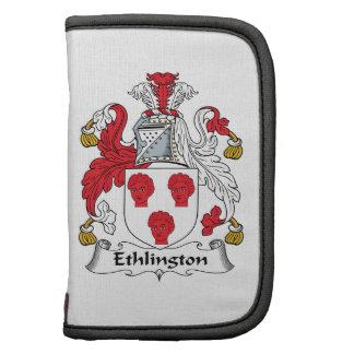 Escudo de la familia de Ethlington Organizador