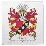 Escudo de la familia de Eure Servilletas De Papel