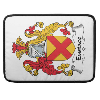 Escudo de la familia de Eustace Fundas Macbook Pro
