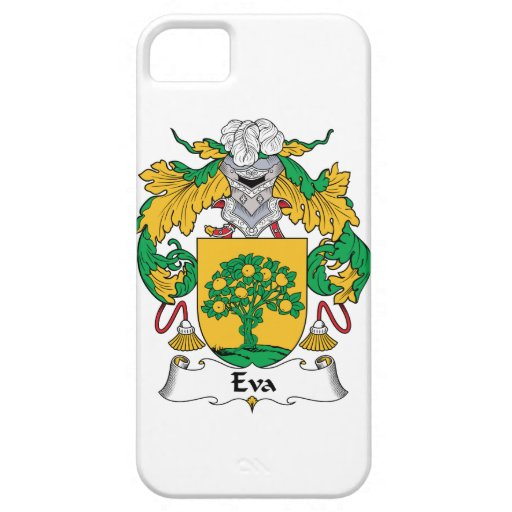 Escudo de la familia de Eva iPhone 5 Funda
