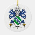 Escudo de la familia de Evans Adorno