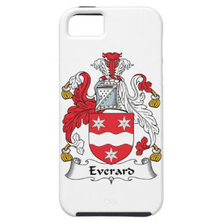 Escudo de la familia de Everard iPhone 5 Cárcasa