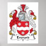 Escudo de la familia de Everard Posters