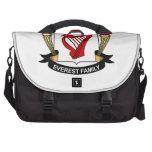 Escudo de la familia de Everest Bolsas Para Portátil