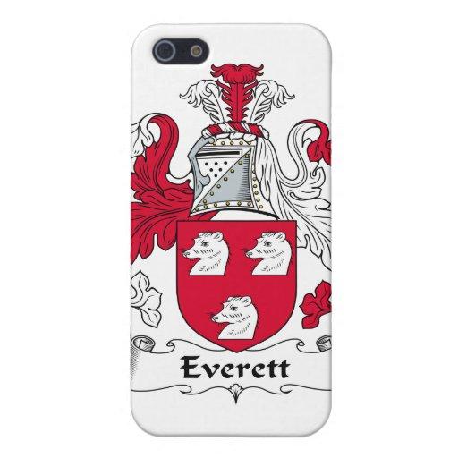 Escudo de la familia de Everett iPhone 5 Carcasas
