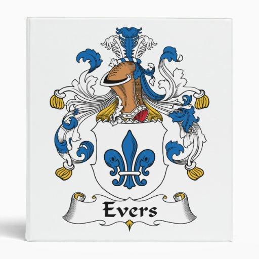 "Escudo de la familia de Evers Carpeta 1"""