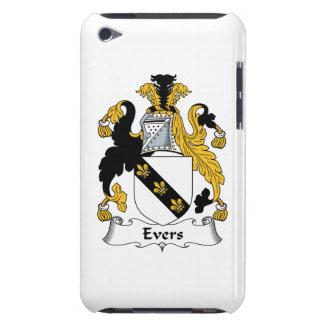 Escudo de la familia de Evers iPod Case-Mate Protectores