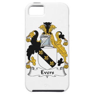 Escudo de la familia de Evers iPhone 5 Case-Mate Cárcasa