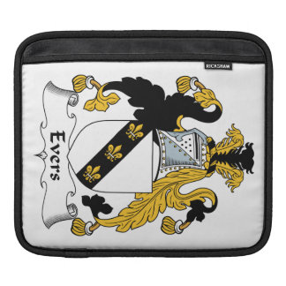 Escudo de la familia de Evers Funda Para iPads