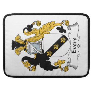 Escudo de la familia de Evers Funda Para Macbooks