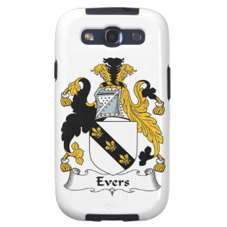 Escudo de la familia de Evers Galaxy S3 Coberturas