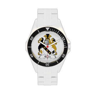 Escudo de la familia de Evers Reloj