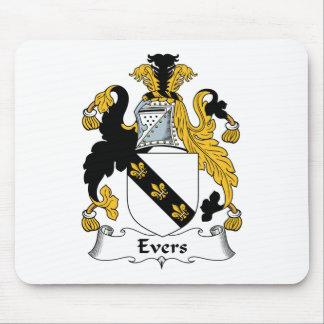 Escudo de la familia de Evers Tapete De Ratón