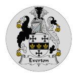 Escudo de la familia de Everton Juego De Fichas De Póquer