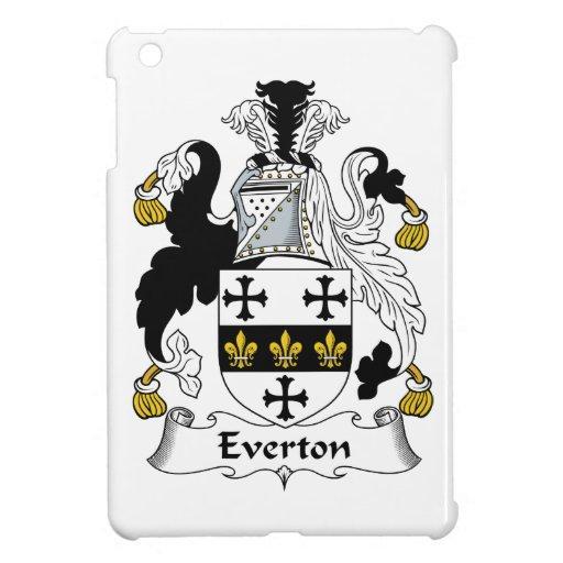 Escudo de la familia de Everton iPad Mini Coberturas