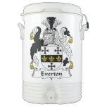 Escudo de la familia de Everton Vaso Enfriador Igloo