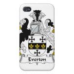 Escudo de la familia de Everton iPhone 4 Protector