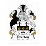 Escudo de la familia de Everton Postal