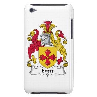 Escudo de la familia de Evett iPod Touch Case-Mate Fundas