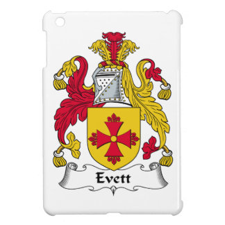 Escudo de la familia de Evett iPad Mini Cobertura