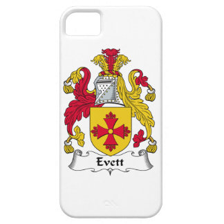 Escudo de la familia de Evett iPhone 5 Protectores