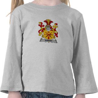 Escudo de la familia de Ewart Camisetas