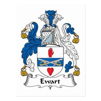 Escudo de la familia de Ewart Postal