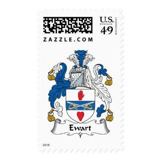 Escudo de la familia de Ewart Franqueo