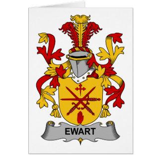 Escudo de la familia de Ewart Tarjeton